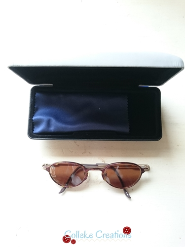 The sunglasses and case I have in my Allison bag - Colleke Creations