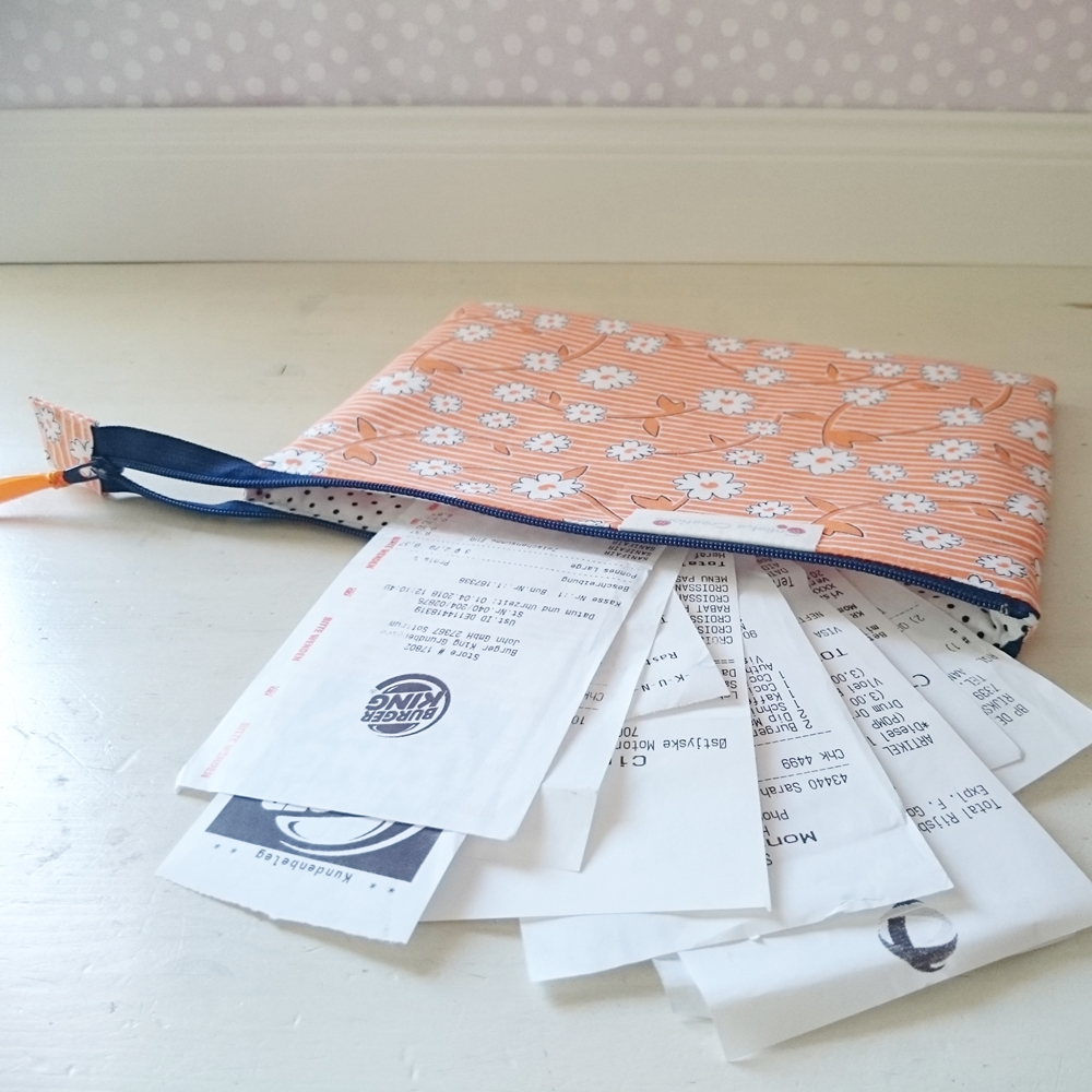 Sage zipper pouch (S)