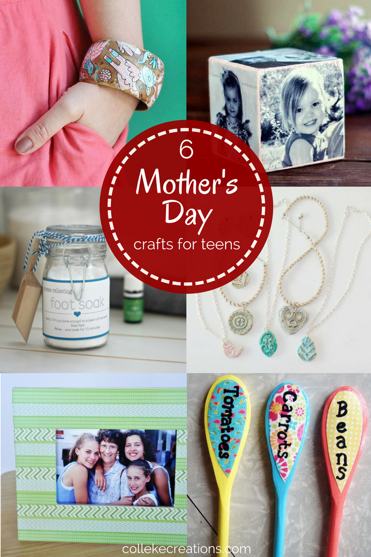 6 Mother's Day crafts for teens - DIY projects your teens can do themselves - Colleke Creations