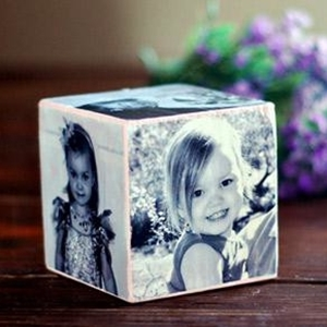 Mother's Day craft for teens - Photo cube from Amy - Colleke Creations