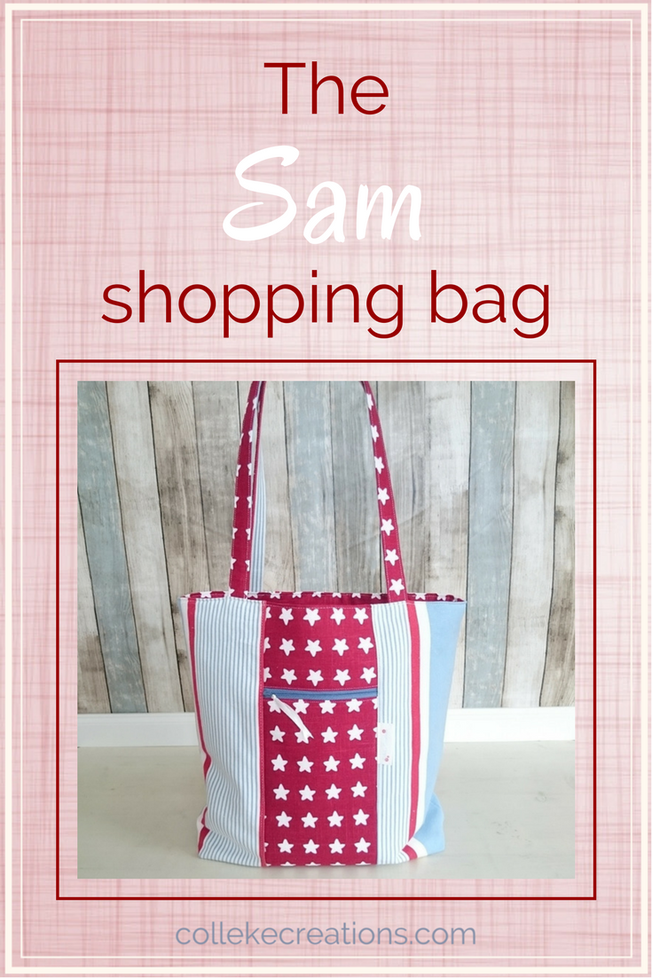 Sam, a stylish bag you want to take shopping - Colleke Creations