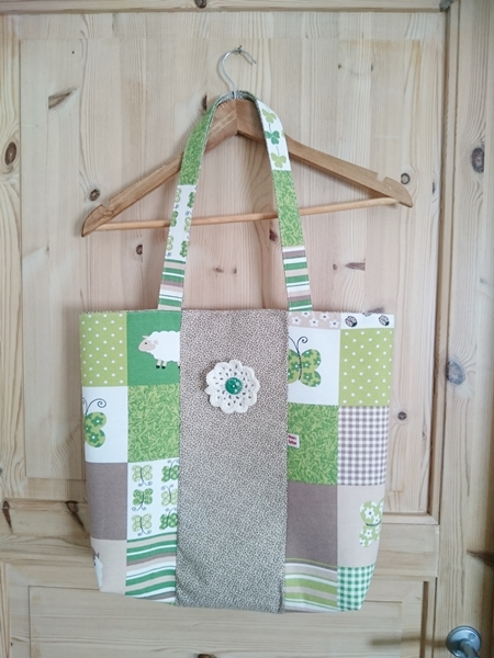 The bag from which the Sam Shopping Bag was born - Colleke Creations