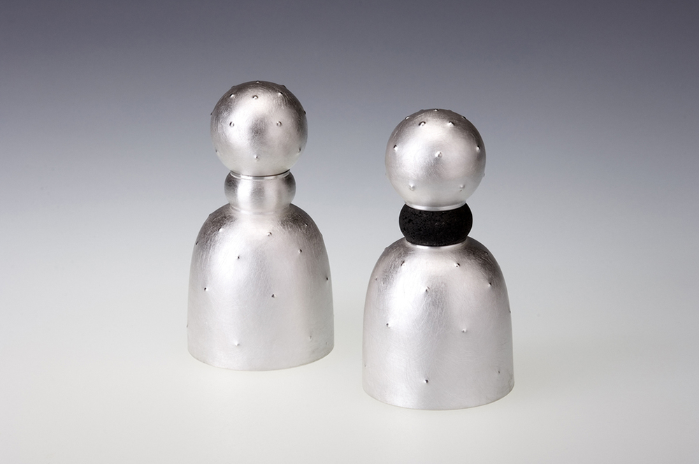 Prickly Pear Salt and Pepper Mills