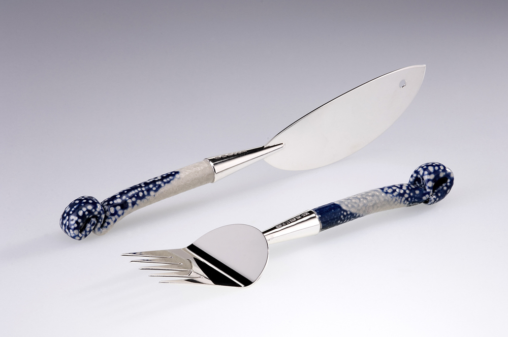 Fish Serving Knife and Fork