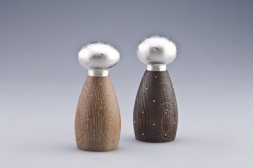 Oval Prickly Pear Salt & Pepper Mills