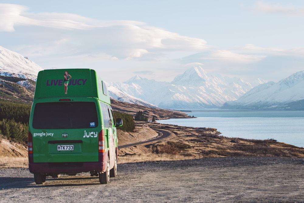 New Zealand - Jucy x South Island