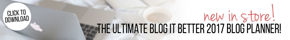 download the ultimate 2017 blog planner kit