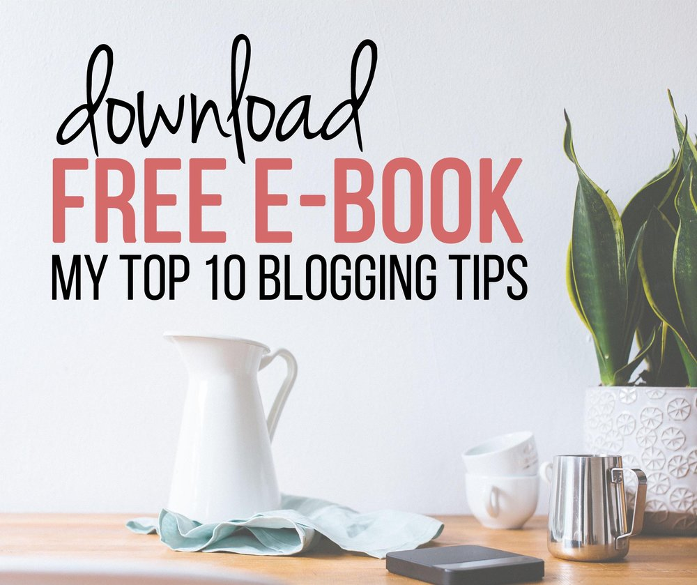 "Download free e-book ""10 steps to infinite blogging success"""