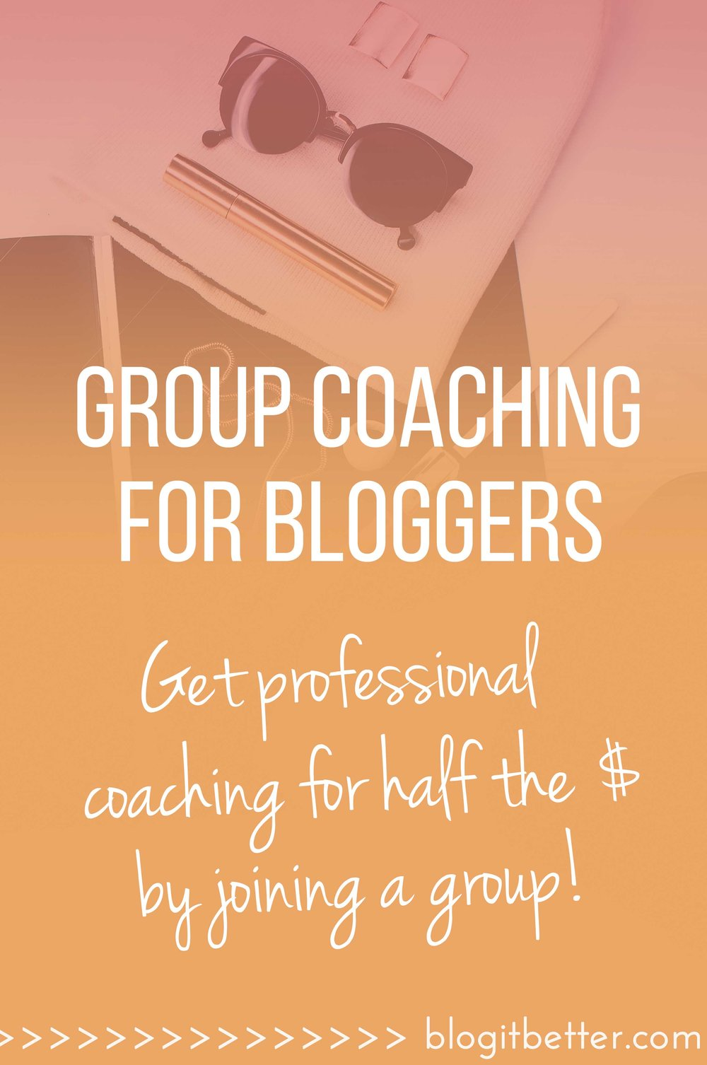 If individual professional blog coaching is out of your price range, you can still get the same quality guidance through group blog coaching!
