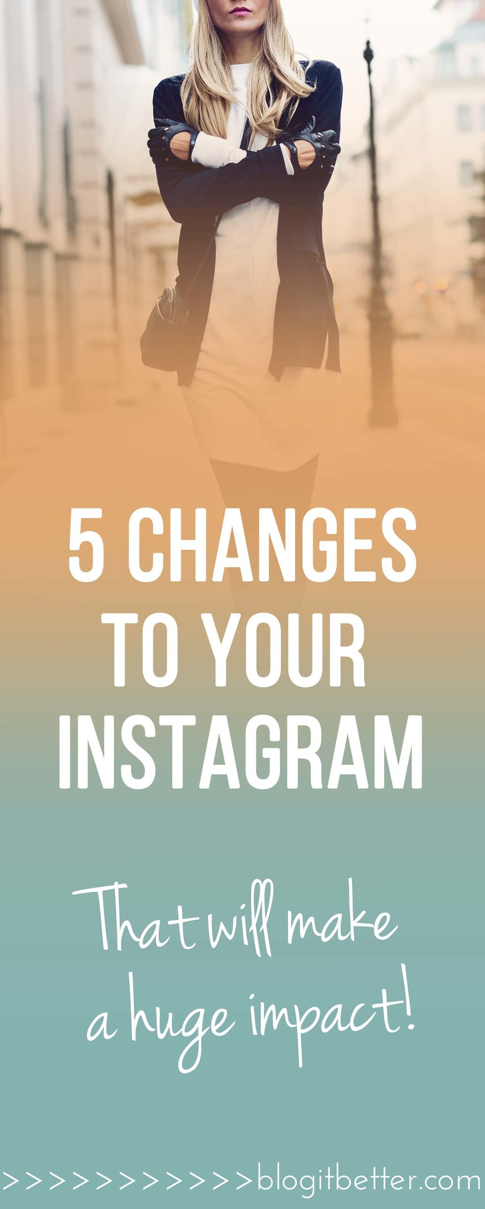 5 changes to your Instagram account that will increase your following!