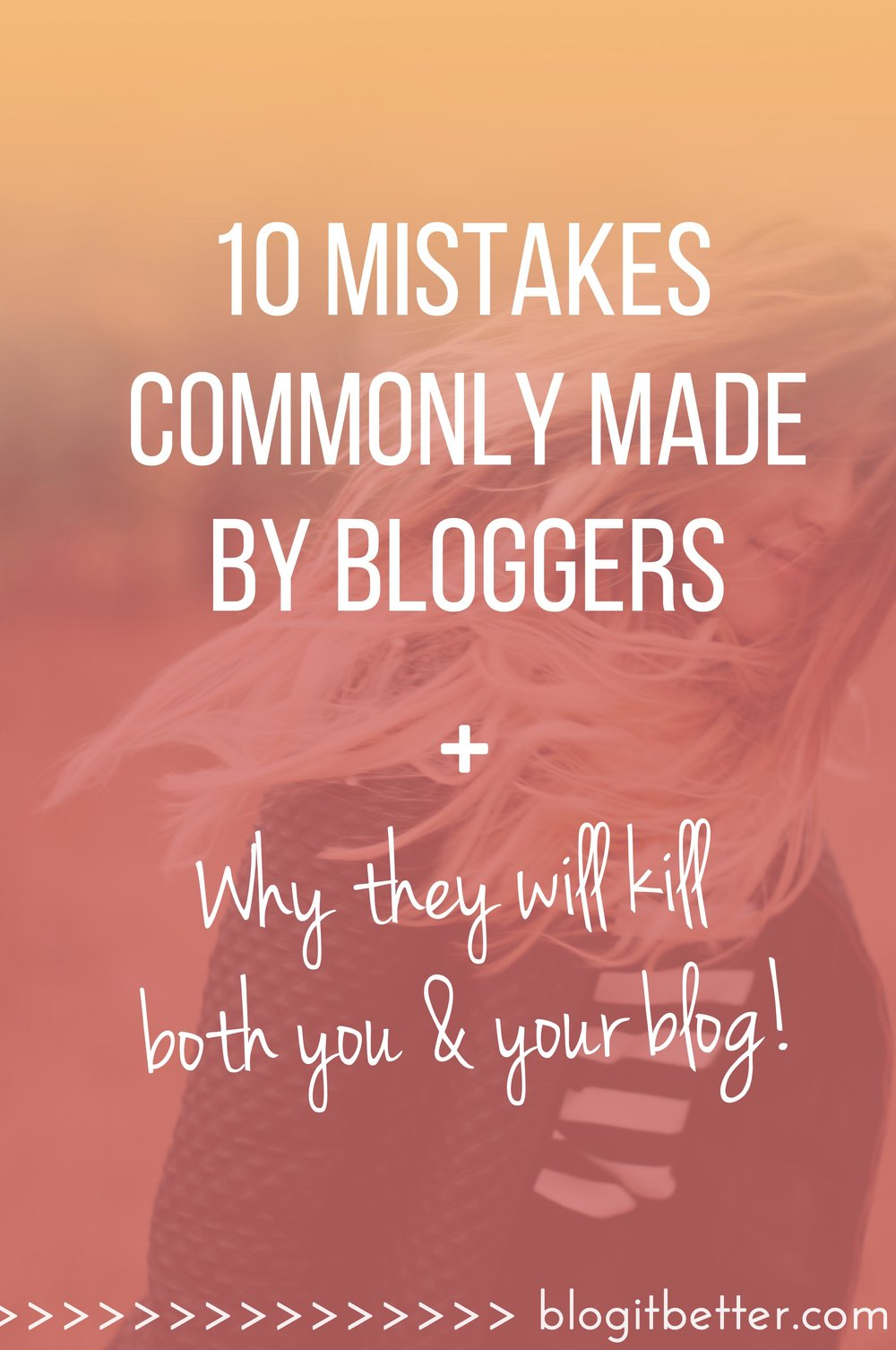 Is your blog wearing you out? 10 mistakes commonly made by bloggers which will kill both you and your blog!