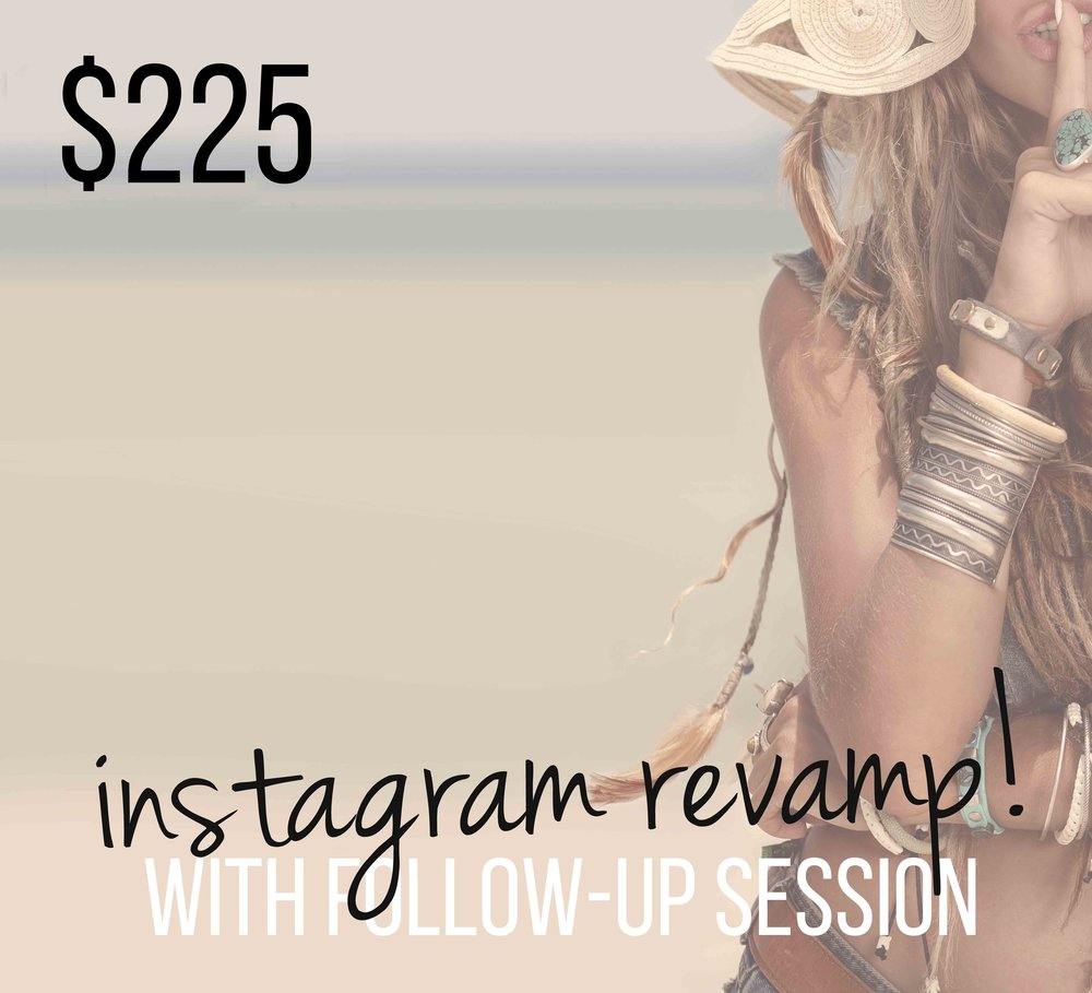 Instagram Design Revamp with personal coaching session