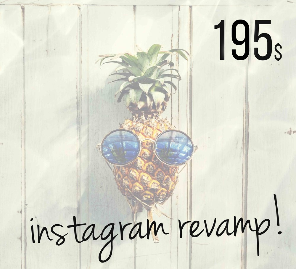 Revamp and professionally redesign your Instagram account! Blog it Better!