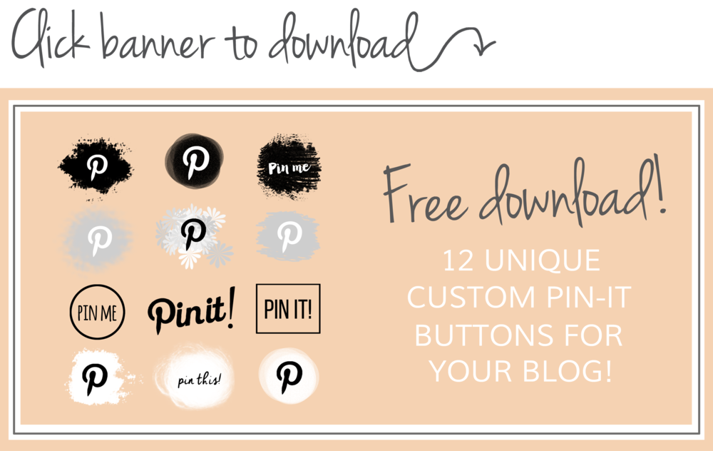 How to add a custom Pinterest pin-it button in Wordpress