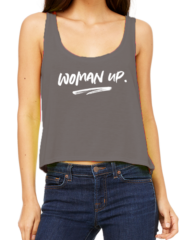 Woman Up - Tank Top