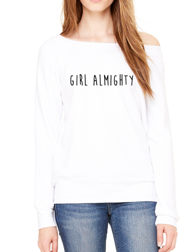 Girl Almighty - Off-Shoulder Jumper