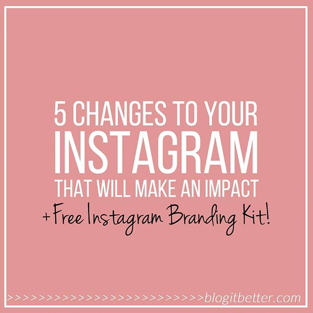 "Want more traction on Instagram?🤔 . Tired of hearing the same advice about how to grow your following?😫 . If you've tried it ""all"" already, and you're still scratching your head wondering why your account isn't taking off 🚀 yet, you should check this out: . 👉👉bit.ly/change-your-instagram👈👈 . I've put together 5 no-bullshit strategies that I use to grow my own accounts, and that you might not hear from everybody else. . Oh, and I've included a FREE download too!🤩 . ✔Get a gorgeous and super handy Instagram Branding Kit which will help you implement the changes I suggest. . Plus, if you log in to the Tribe resource library, I've uploaded a pack of FREE Instagram templates as well 😊🙌🙌 They'll vamp up your account in no time! . ✔Read the post, take action, and make sure YOUR account is a wallflower no more!! . Kristine x❤"