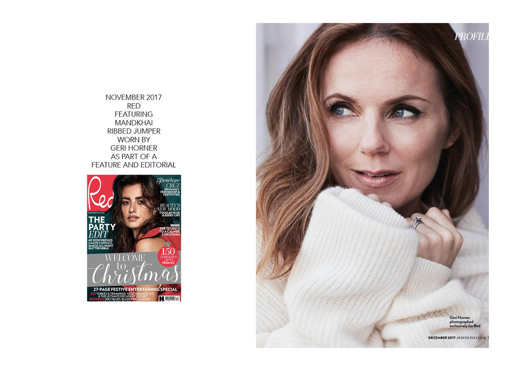 Red Magazine Geri Horner Profile - 16.11.17.jpg Mandkhai Press