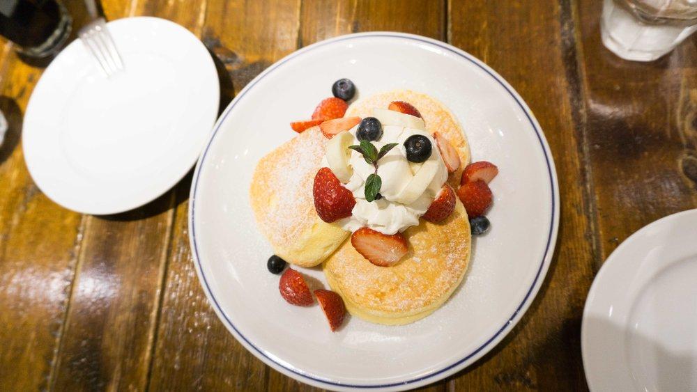 Pancakes in Tokyo