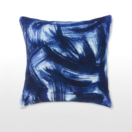 INK BRUSH STROKE CUSHION  Capsule collection