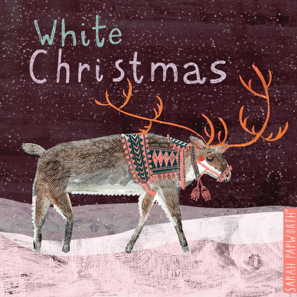 reindeer christmas design greeting card illustration sarah papworth.jpg