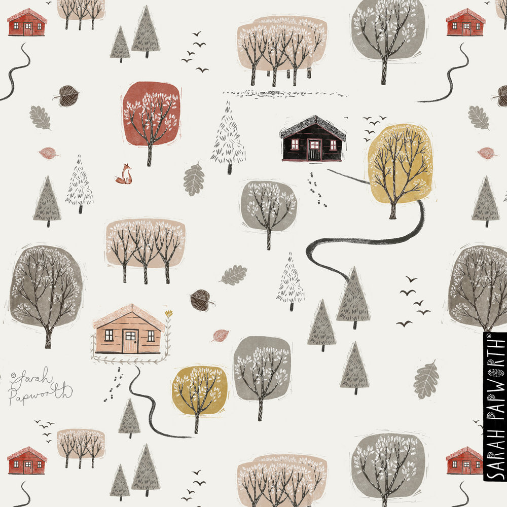asda bedding-designs-woodshed-cabin-forest-by-sarah-papworth-for-george-home.jpg