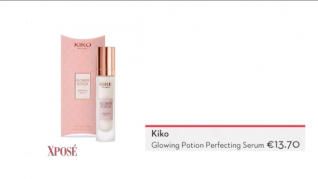 Kiko glowing potion perfecting serum
