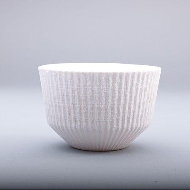 -FIBER COLLECTION- -BOWL- #porcelain #clay #texture #slipcasted #contemporaryceramics #bowl #white #p3l1