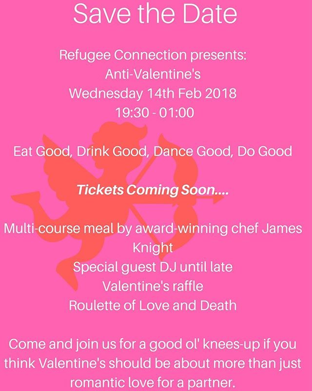 Single? In a relationship? It's complicated? Who cares?! Whatever your relationship status this Valentine's Day - come and join us for top-notch food and drink, and get your dancing shoes on for an unmissable evening with like-minded pals. Raffle prizes, roulette of love and death and special guest DJ. Tickets coming soon.... 🖤