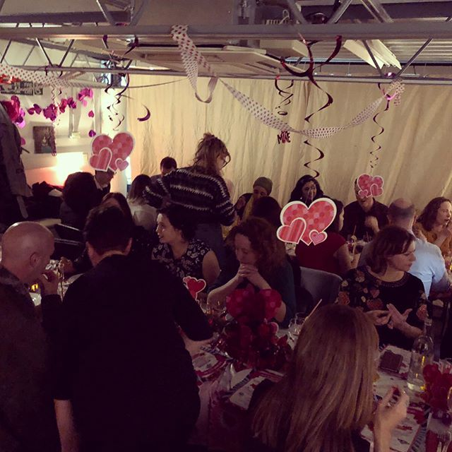 We had a blast last night! Thank you to everyone who came!  Special thanks to: James Knight & Rebecca Otero, Sophie, Caroline, Kieran, @drlululevay @restaurantmoro @trullo_restaurant @padella_pasta @allegramcevedy @riocinema @pagesofhackney @crowdcompanyfunk @yasmin2751 @helmanislisa @graemeduddridge Oak Furniture & all our lovely helpers: Breda, Bahman, Rosie, Sarah, Aran, Mus, Amanj & Anneka. 💛💓💛💓💛💓