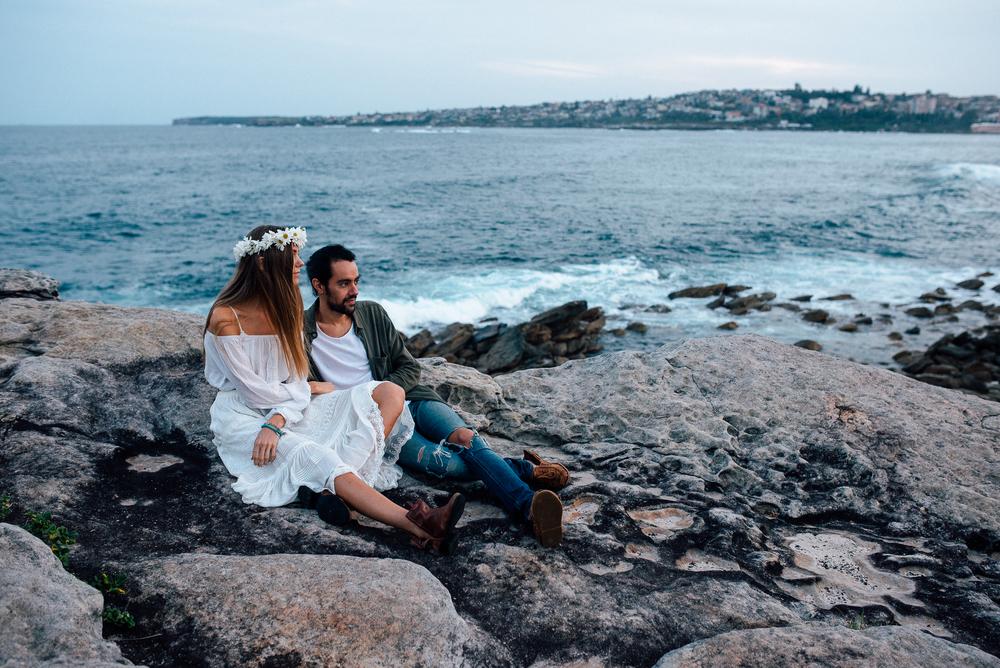 Clovelly beach romantic photography portraits