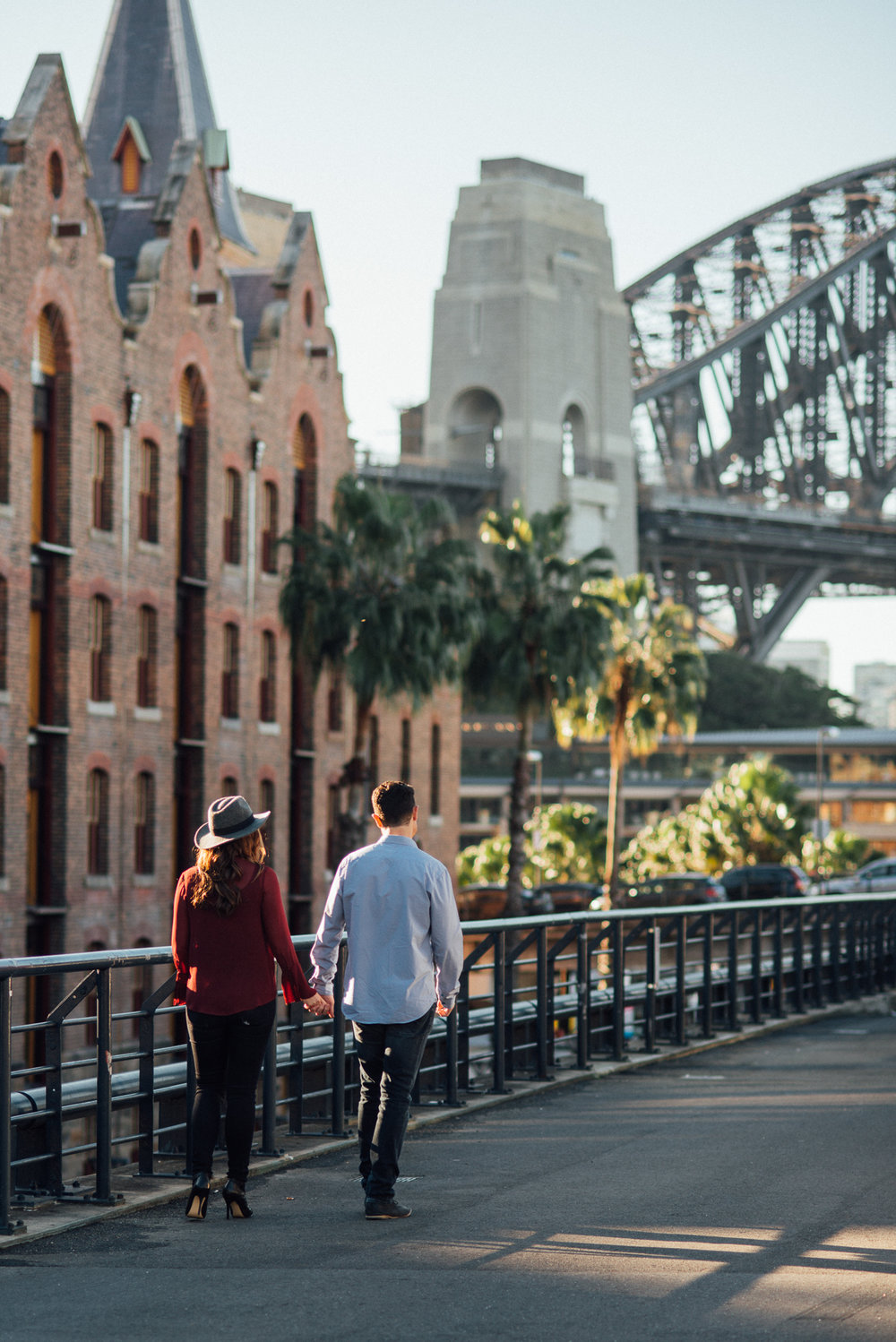 The Rocks, Sydney engagement photo shoot