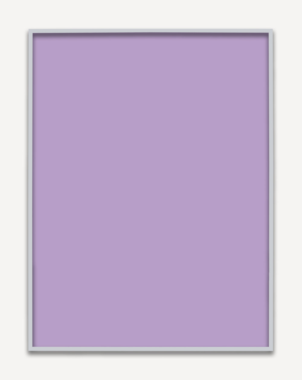 Untitled (Purple Monochrome 03), 2015 unique chromogenic prints 153,5 x 123,5 cm - 60 3/8 x 48 5/8 inches (framed)