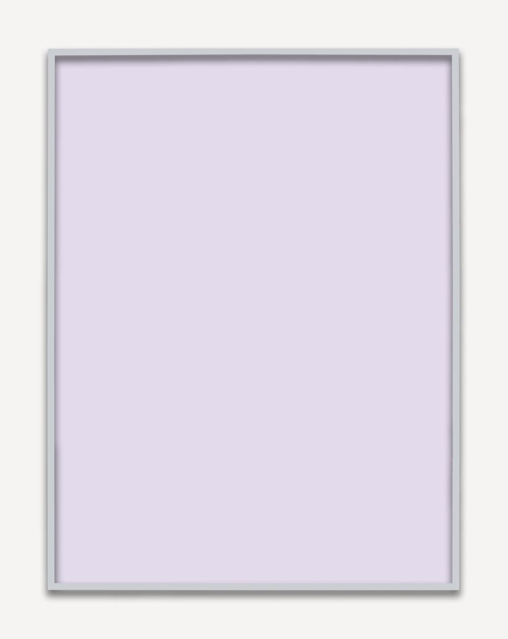Untitled (Purple Monochrome 05), 2015 unique chromogenic print 153,5 x 123,5 cm - 60 3/8 x 48 5/8 inches (framed)