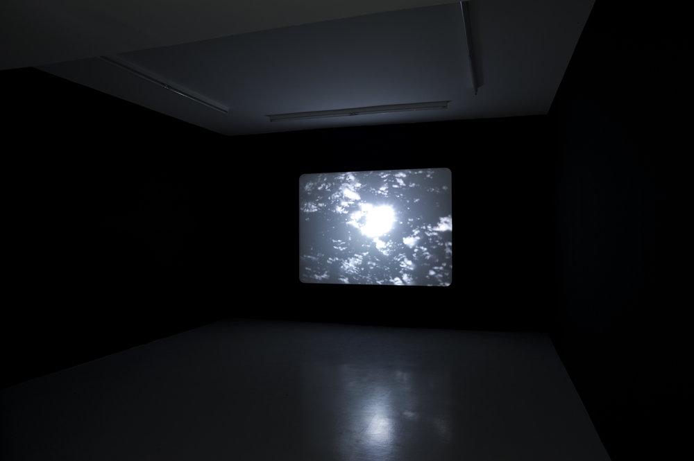 Screen-o-scope , 2010 16 mm film. 4min15. B/W, silent