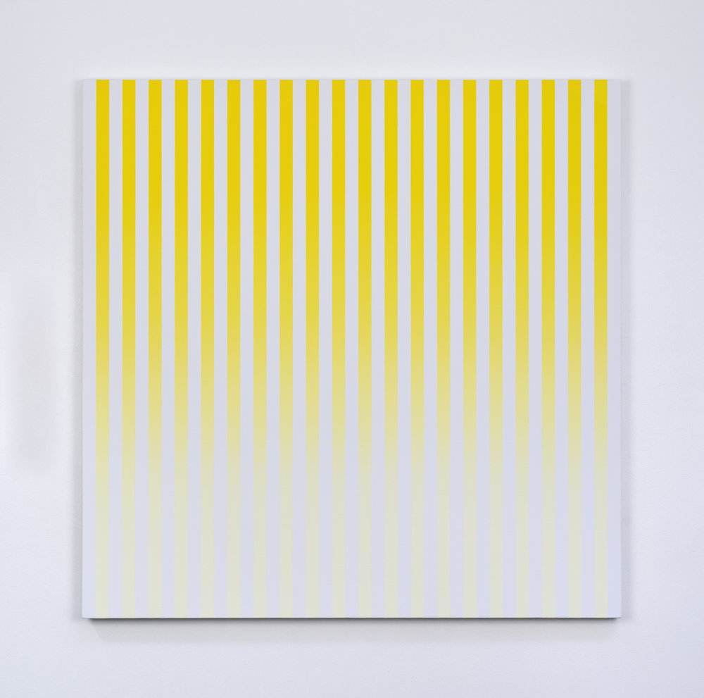 Slow Motion, 2013 acrylic on canvas 100 x 100 cm - 39 3/8 x 39 3/8 inches