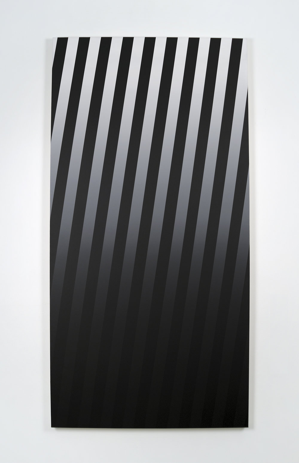 Gradient, 2010 acrylic on canvas 180 x 90 cm - 70 7/8 x 35 3/8 inches