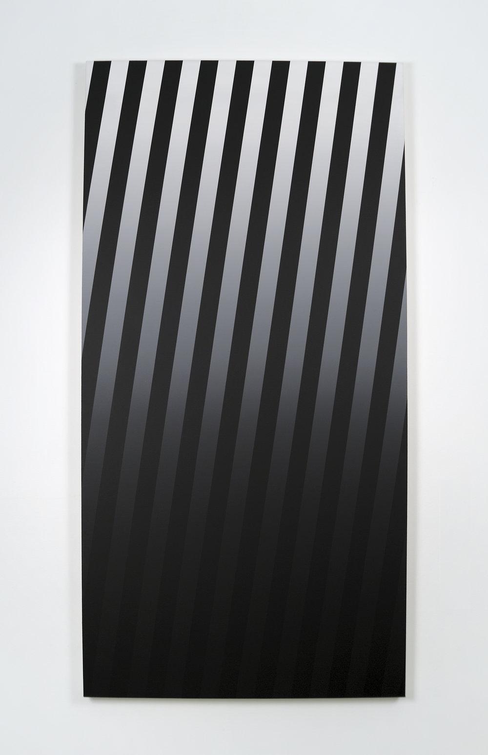Gradient, 2010 acrylic on canvas 180 x 90 cm - 70 7/8 x 35 3/8 inches