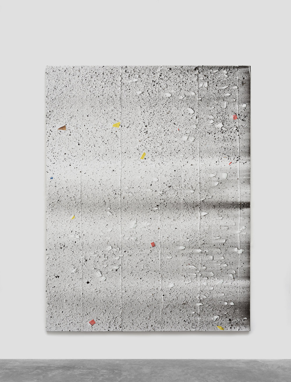 Untitled, 2016 mixed media on canvas 196 x 151 cm - 77 1/8 x 59 1/2 inches