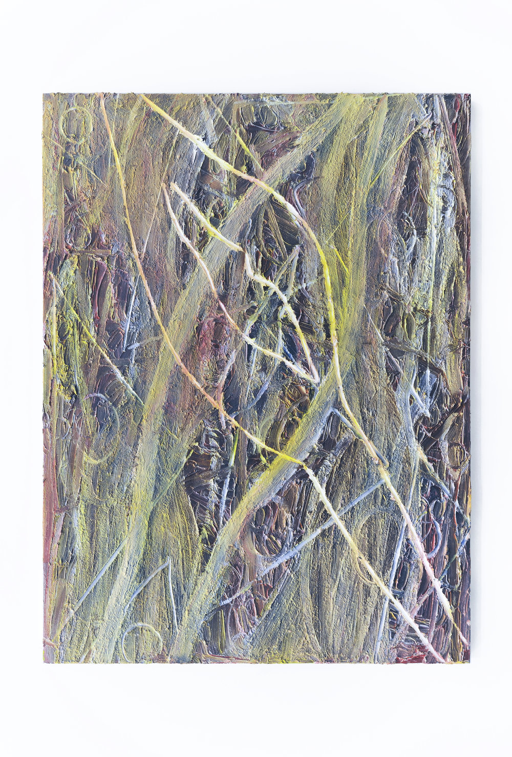 Soup, 2012 oil and spray paint on canvas 162 x 121 cm - 63 3/4 x 47 5/8 inches