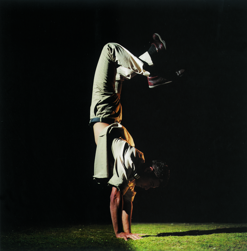 """""""Untitled"""" from the """"Soldiers"""" series, 1999 color photograph mounted on PVC edition of 5 90 x 90 cm - 35 3/8 x 35 3/8 inches"""