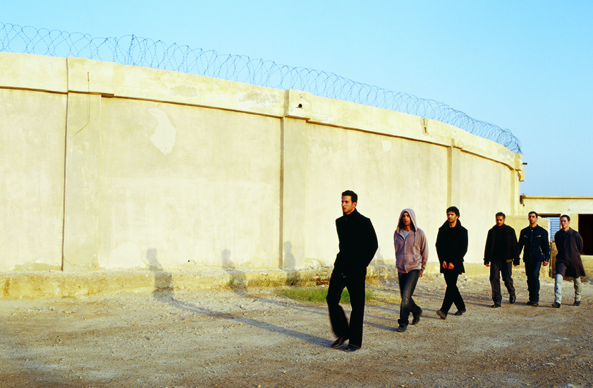 """""""Untitled"""" from the """"Prisoners"""" series, 2003 color photograph mounted on PVC edition of 10 90 x 123 cm - 35 3/8 x 48 3/8 inches"""