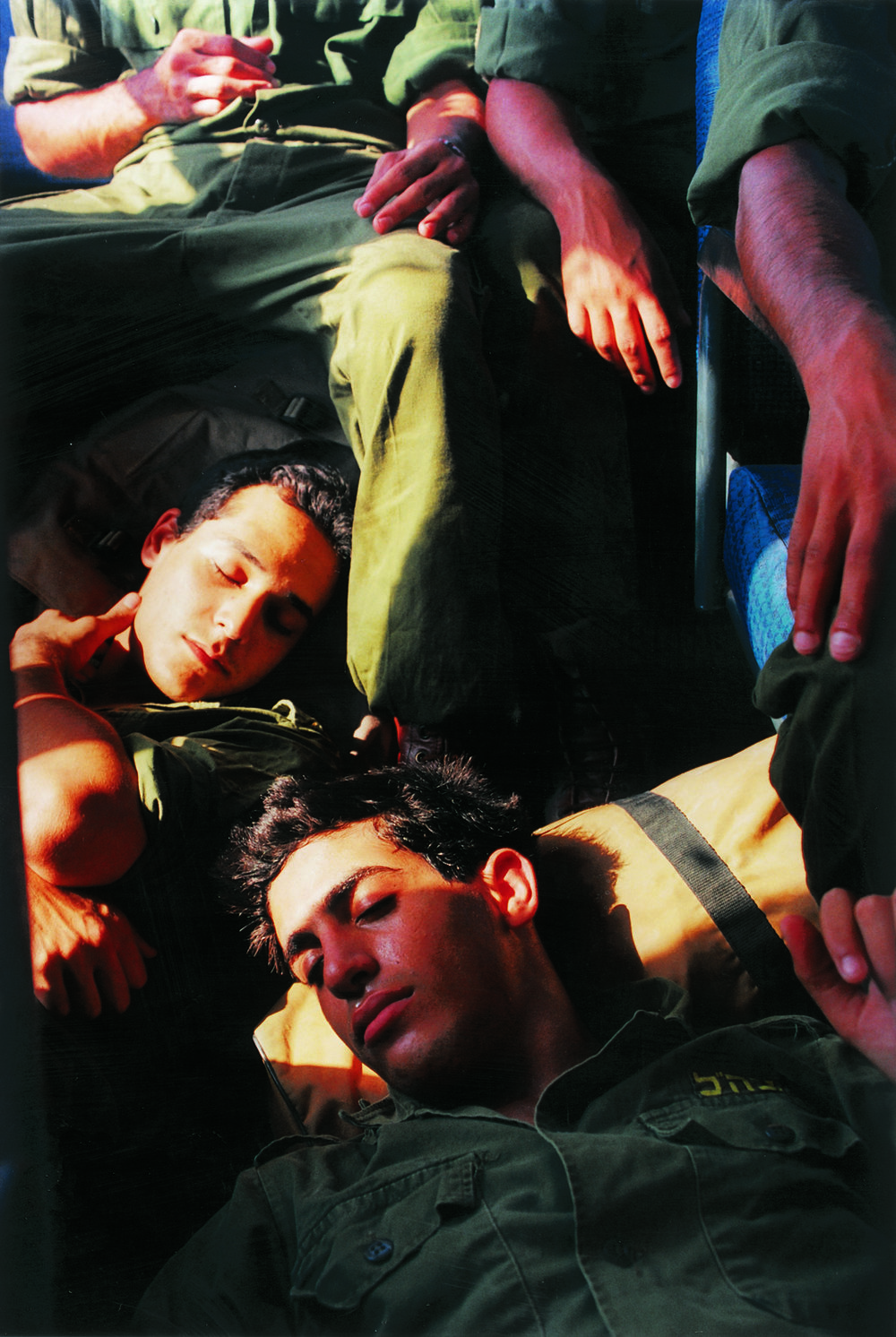 """""""Untitled"""" from the """"Soldiers"""" series, 1999 color photograph mounted on PVC edition of 6 90 x 60 cm - 35 3/8 x 23 5/8 inches"""
