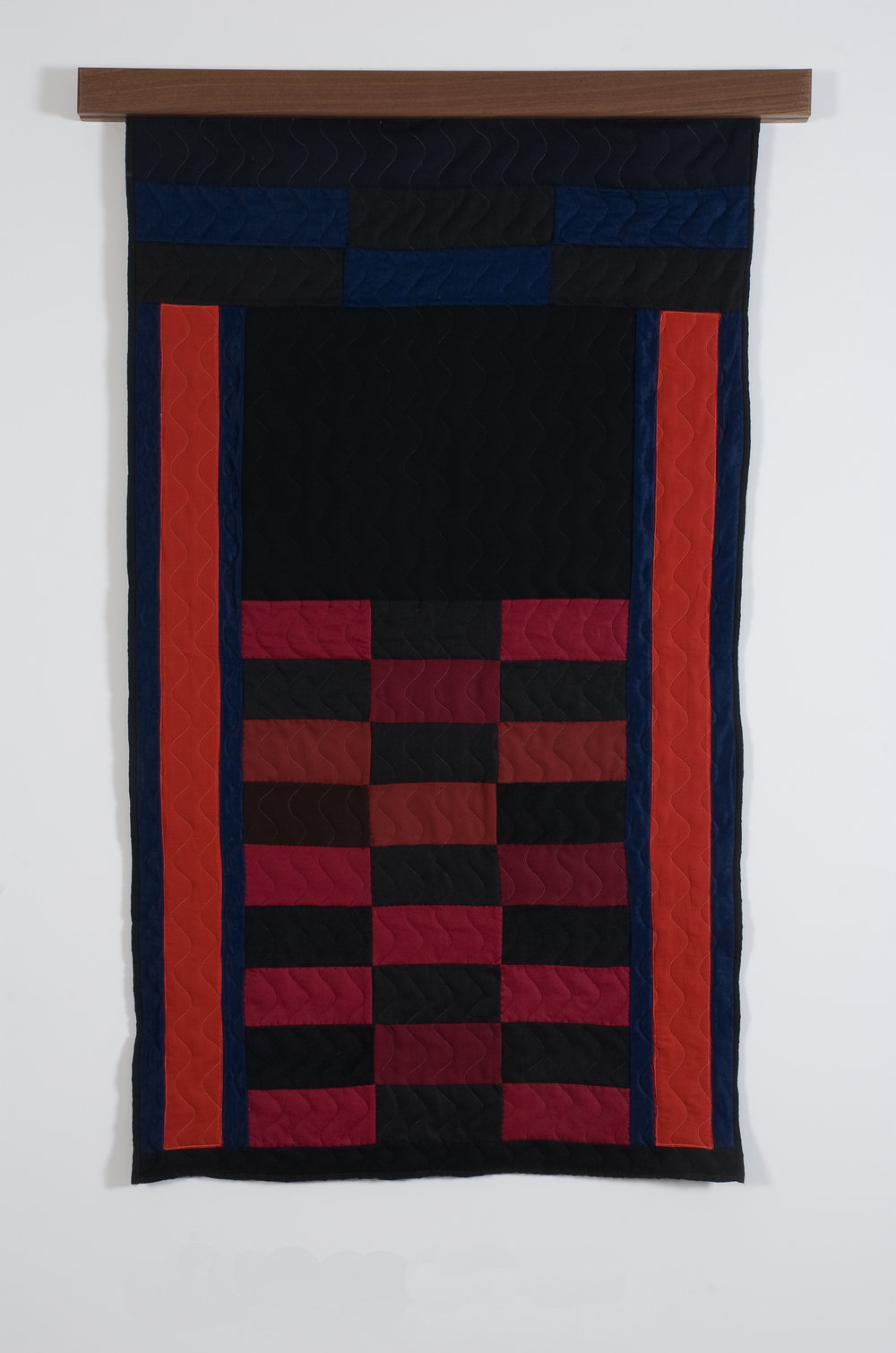 Bricks and Bars V, 2008 felted wool and cotton 150 x 86 cm - 59 x 33 7/8 inches