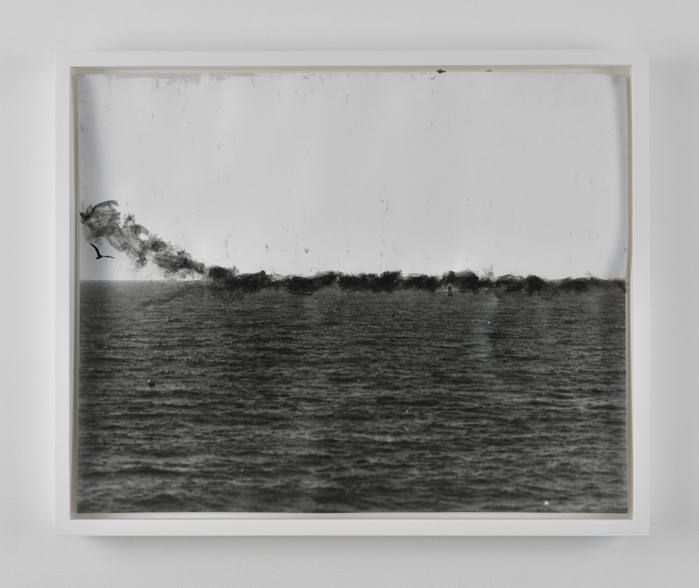 Oceanscape, 2011 gelatin silver print on resin coated paper 44 x 54 cm - 17 1/4 x 21 1/4 inches (framed)