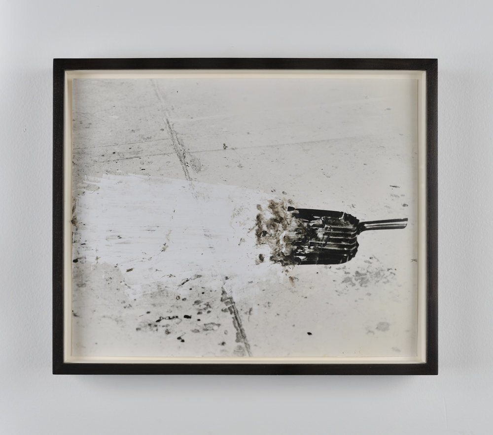 Dust Pan, 2011 gelatin silver print on resin coated paper 23 x 28 cm - 9 x 11 inches (framed)