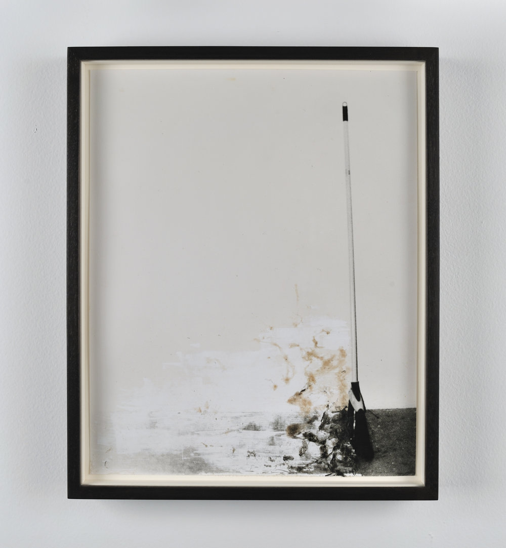 Broom, 2011 gelatin silver print on resin coated paper 28 x 23 cm - 11 x 9 inches (framed)