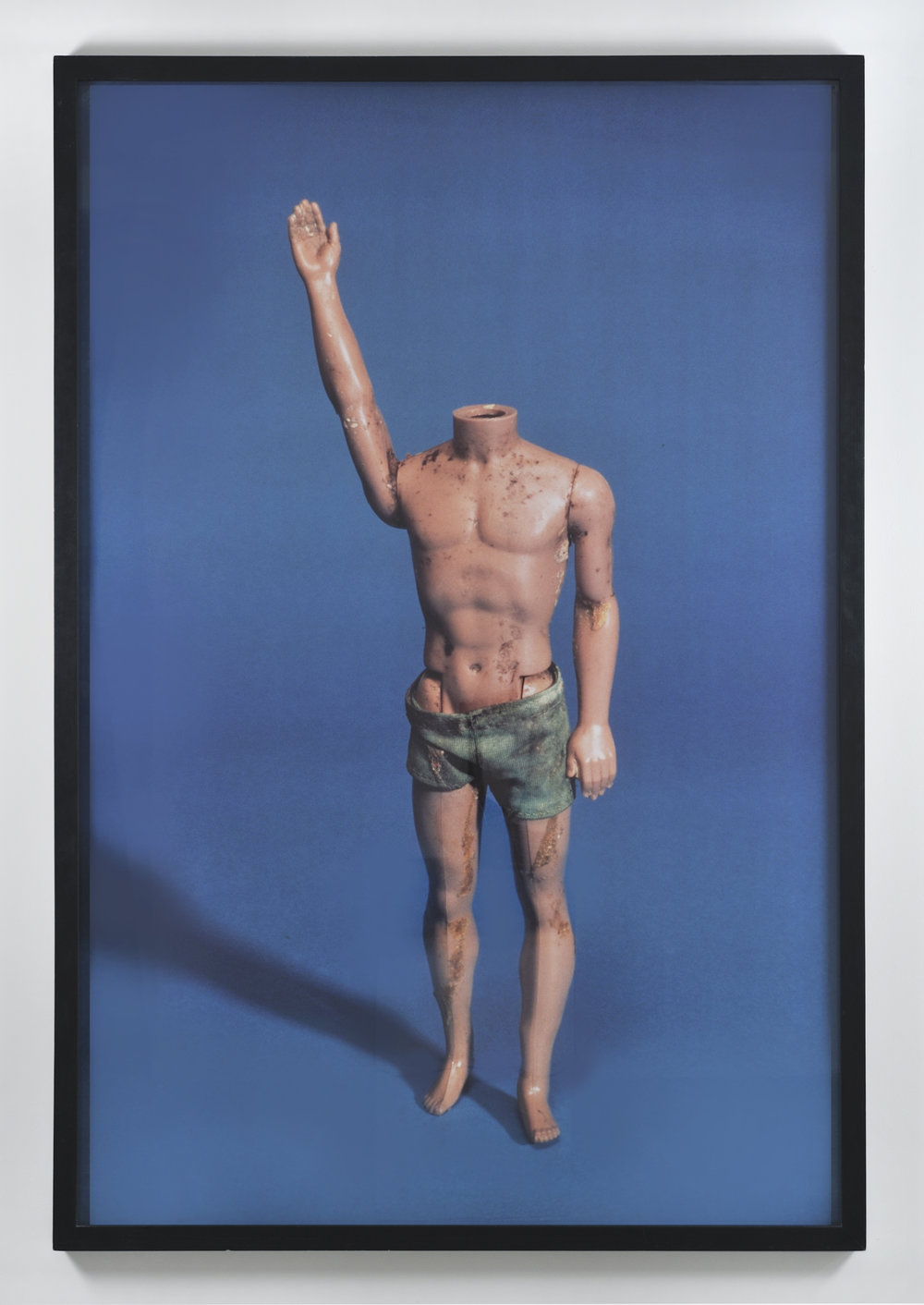 """Paul McCarthy, Ken with No Head (from """"Propo Objects"""" / 1973-1983), 1992-1993 c-print ed. 1/3 190 x 127 cm - 74 3/4 x 50 inches"""