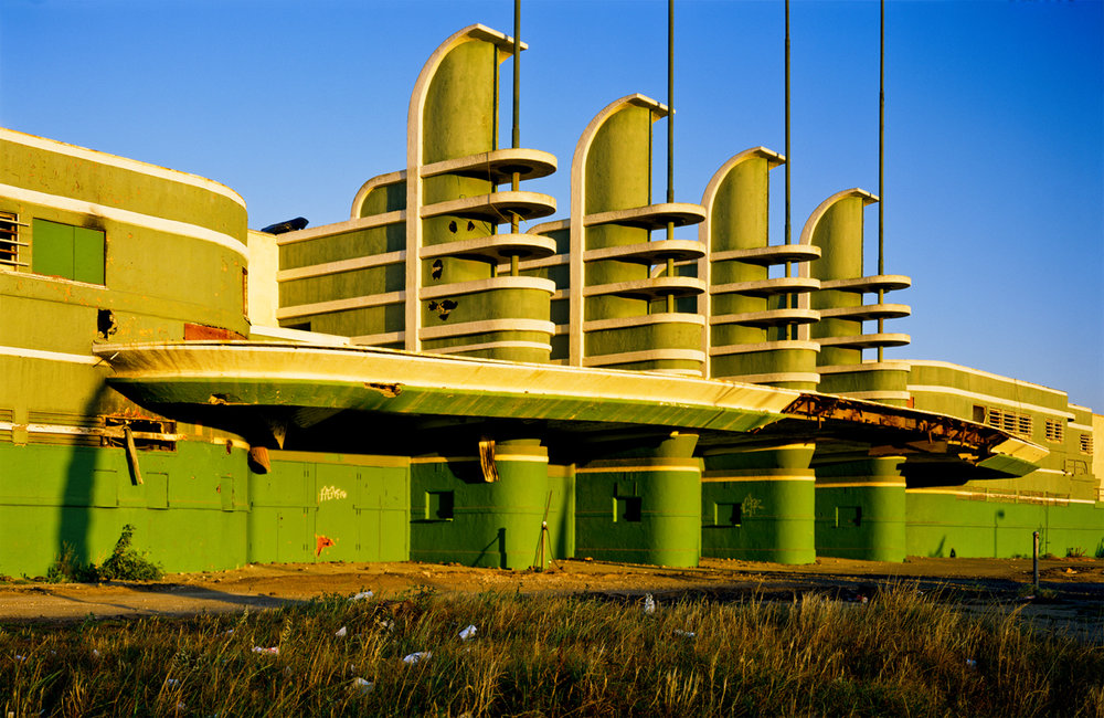 Wayne Rowe, In Memory of The Streamline Modern Pan Pacific Auditorium (1935-1989) Los Angeles, California, no date 3 photographs 39,5 x 57 cm - 15 1/2 x 22 inches (each)