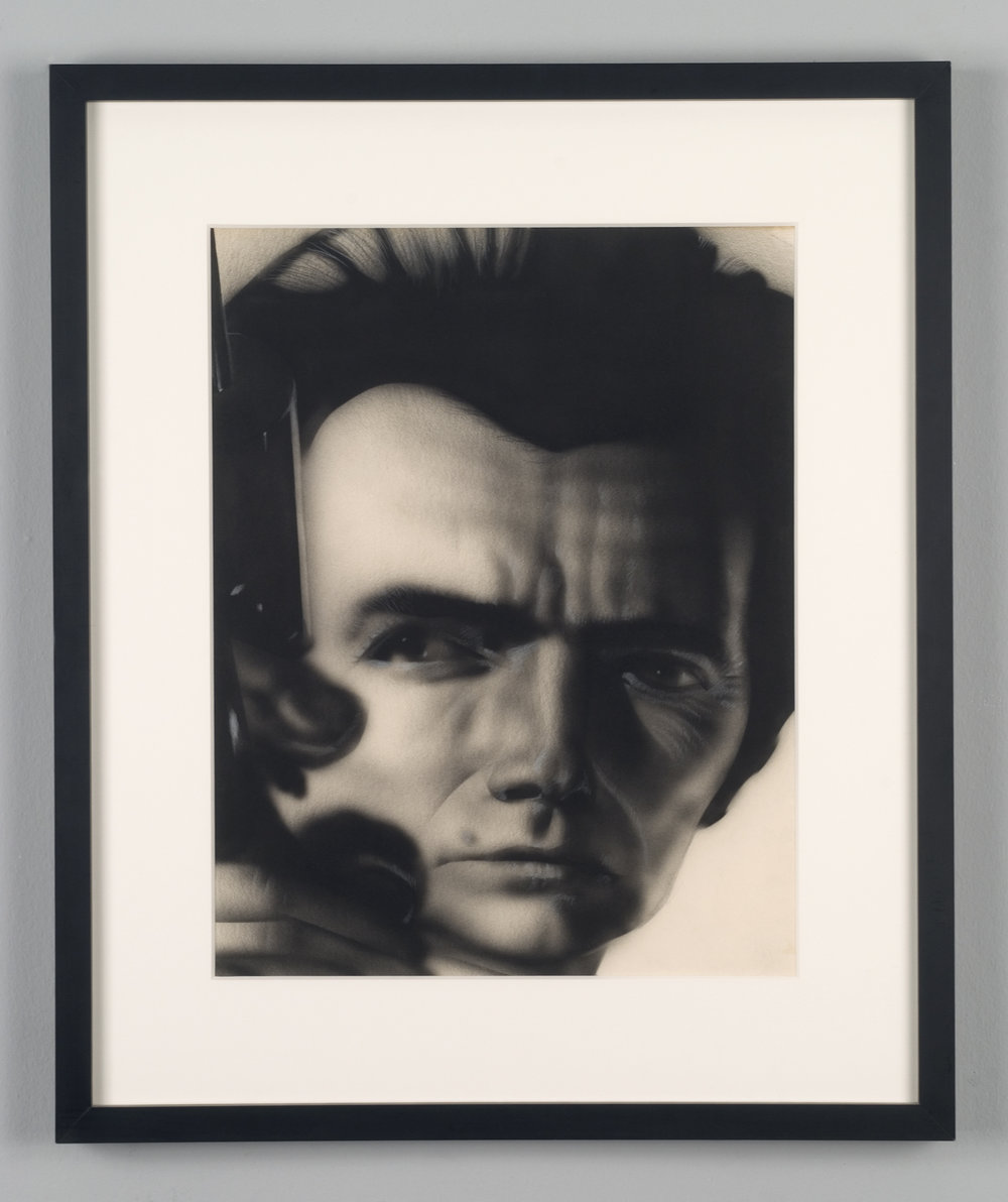 Jim Shaw, Untitled (Distorted Faces Series), 1980 graphite, airbrush and prismacolor on paper 50 x 42 cm - 19 5/8 x 16 1/2 inches (framed)